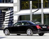 "Šarvuotas S klasės ""Mercedes-Benz"""
