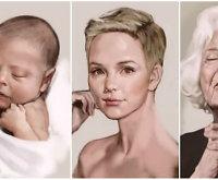 Nuo gimimo iki mirties: menininkas visą moters gyvenimą sutalpino į keturias minutes