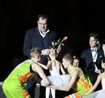 """Arvydą Sabonį Kauno """"Žalgirio"""" arenoje atsistoję sveikino tūkstančiai žiūrovų"""