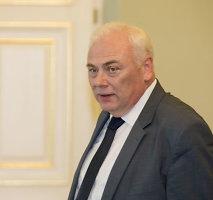 Algirdas Butkevičius spręs, ar Dailis Alfonsas Barakauskas gali būti vidaus reikalų ministru