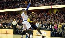 """""""Knicks"""" klubas ir Carmelo Anthony sugadino LeBrono Jameso sugrįžimą į Klivlendą"""