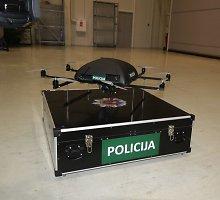 20 tūkst. eurų atsiėjusi skraidyklė 4 metus dulka Vilniaus policijos komisariate
