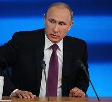 Vladimiras Putinas nurodė vykdyti Rusijos kariuomenės modernizacijos programą