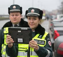Vilniaus policija nustebino Europą: pareigūnai įvykius fiksuoja planšetiniais kompiuteriais