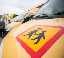 Savivaldybėms bus perduoti nauji mokykliniai autobusai