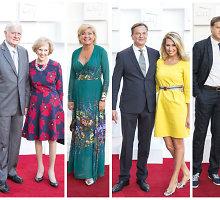 Valdovų rūmuose – šimtai puošnių svečių: LRT atidarė 91-ąjį sezoną