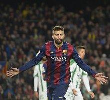 """Triuškinančią pergalę iškovojusią """"Barcelona"""" ekipą nuo """"Real"""" skiria taškas"""