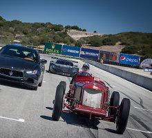 """""""Maserati"""" 100-tojo jubiliejaus proga parduoti 15 mln. litų vertės istoriniai automobiliai"""