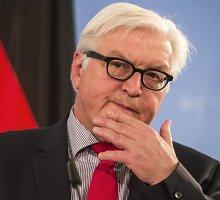 Vokietijos užsienio reikalų ministras Walteris Steinmeieris: Rusija Krymo negrąžins