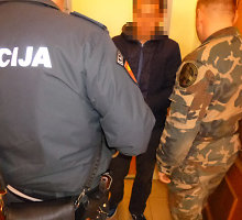 Į Lietuvą neteisėtai bandę pakliūti gruzinai atsidūrė už grotų