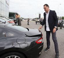 """Arvydo Sabonio automobiliai: nuo """"Žiguli"""" iki """"Maserati"""""""