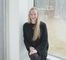 """Lietuvė Justė Jonutytė – tarp įtakingiausių jaunųjų meno kuratorių Europoje: """"Svarbu neužsidaryti tik savo kieme"""""""