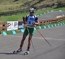Sėkmė: pasaulio biatlono vasaros čempionate dalį varžybų pirmavęs Karolis Dombrovskis užėmė 13 vietą