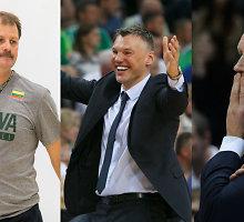 Jono Kazlausko įpėdiniai: kas treniruos Lietuvos vyrų krepšinio rinktinę?