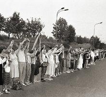 7 istoriniai faktai, kuriuos verta žinoti apie Baltijos kelią