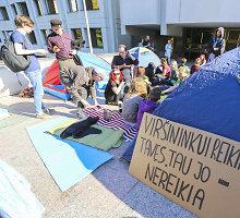A.Butkevičius: prieš Darbo kodeksą protestuojantys jaunuoliai net nežino, apie ką jis