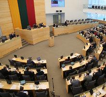 Seime pasirašytas memorandumas kovoti su rinkėjų papirkinėtojais