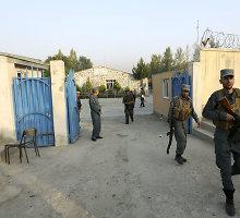 Kabule per ataką prieš Amerikos universitetą žuvo devyni žmonės