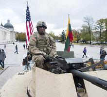 Analitikai: Baltijos šalims apginti NATO turėtų dislokuoti septynias brigadas