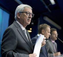 EK pirmininkas: grasinimais dėl migrantų Turkija nieko nepasieks