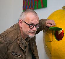 """Marius Jonutis pristatė 52 darbų parodą """"Sodas"""": """"Galėtų būti modernus sodininko kalendorius"""""""