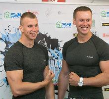 Henrikas Žustautas ir Jevgenijus Šuklinas pradeda dvikovą dėl Rio kelialapio