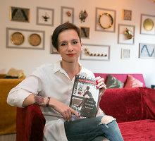 """Ugnė Barauskaitė po 10 metų išleido romaną """"Vieno žmogaus bohema"""": """"Visos kelionės yra pirmiausia į save"""""""