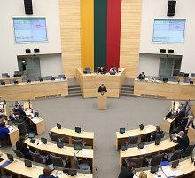 Seime kyla priešprieša dėl lobistinės veiklos reguliavimo
