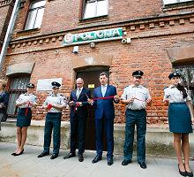 Kauno Panemunės policijoje – įkurtuvės: atidarytas atnaujintas komisariatas