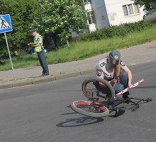 Panevėžyje jauna vairuotoja partrenkė dviračiu per perėją važiavusį vaiką