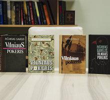 """Keturi Ričardo Gavelio """"Vilniaus pokerio"""" viršeliai: išrinkite jums labiausiai patinkantį"""