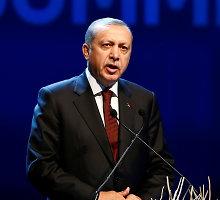 R.T.Erdoganas spaudžia Europos Sąjungą: priimkite pusę milijono sirų
