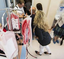 Po avarijos moteriai prireikė dešimties donorų kraujo