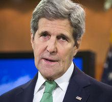 Johnas Kerry ragina ES nepamesti galvos po netikėto britų sprendimo