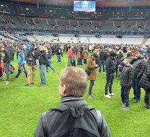 Specialiai 15min.lt iš Paryžiaus: apie sprogimus prie stadiono kiti žinojo daugiau nei patys žiūrovai
