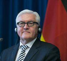 """Vokietijos užsienio reikalų ministras apie Rusijos grėsmę: """"Vien dialogu visko neišspręsime"""""""
