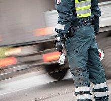 Reido Kėdainių rajone rezultatai: 1 448 vairuotojai – 55 administracinės teisės pažeidimai