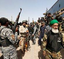 Irake mirties spąstuose atsidūrė 50 tūkstančių žmonių