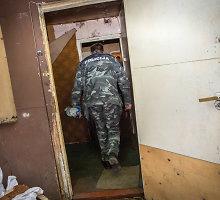 Kramniškių kaime rastas maišelis su sprogstamomis medžiagomis
