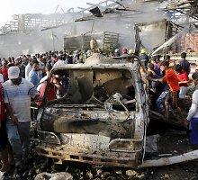 Irake kelyje netoli sostinės sprogimas pražudė 23 žmones, sužeidė 38