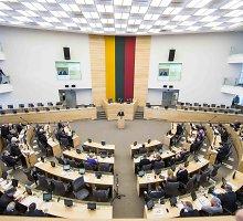 Opozicija mato pagrindą V.Baltraitienės interpeliacijai, bet kelia klausimą dėl jos prasmės baigiantis kadencijai