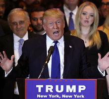 Kalifornijoje D.Trumpo viešnagė išprovokavo audringus protestus