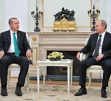 Turkija nusileido: R.T.Erdoganas atsiprašė V.Putino dėl numušto Rusijos karo lėktuvo