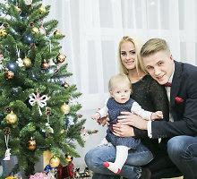 Ypatingos Pauliaus Bagdanavičiaus Kalėdos – naujuose namuose su žmona Lina ir dukra Paulina