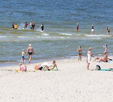 Paplūdimiuose jau siaučia vagys – Melnragėje dingo kuprinė