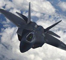 NATO oro policija 3 kartus lydėjo Rusijos orlaivius
