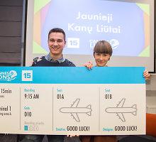 """Teisę dalyvauti """"Jaunųjų Kanų liūtų"""" konkurse iškovojo agentūros """"SuperYou"""" duetas"""