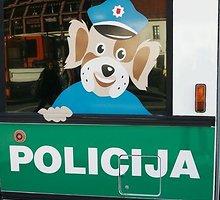 Šarūno Mažeikos/BFL nuotr./Policijos automobilis