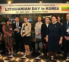 Seimo pirmininkė L.Graužinienė Pietų Korėjoje aptarė ekonominio bendradarbiavimo galimybes