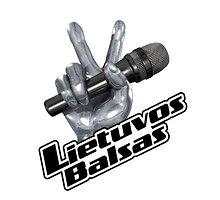 """LNK nuotr./Šou """"Lietuvos Balsas"""" logotipas"""